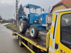 Kistraktor szállítás